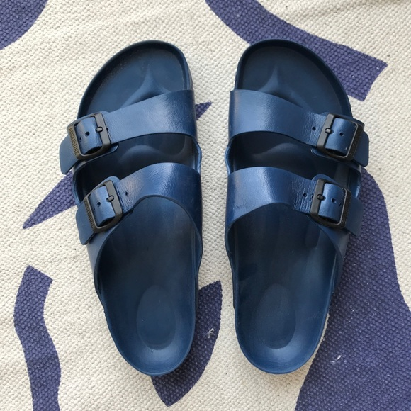 40bf1e60abfb Birkenstock Other - Men s Blue Rubber Birkenstock Sandals